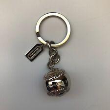 Coach Baseball Keychain In Women s Key Chains b5db3a5606