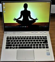 "Lenovo Yoga 910 Touchscreen FHD 14"" laptop i5 8GB SSD256G SSD silver"