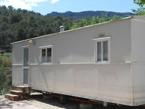 Mobile home in Spain with fishing lake only £7,500