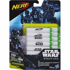14 Dart NERF Star Wars - Glow in the Dark Leuchtende Pfeile Nachfüllpack