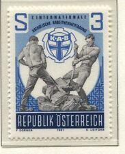 Österreich Austria 1688 Internationale Katholische Arbeitnehmertagung  - 1981 **