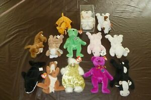LOT OF HALO, KICKS, BUTCH, MILLENNIUM, POUCH, AND OTHER VARIOUS BEANIE BABIES 2