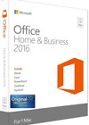 * Genuine Microsoft Office 2016 For Mac Home & Business - 3 Mac User License *