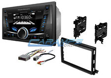 NEW POWER ACOUSTIK BLUETOOTH CAR STEREO RADIO W USB/AUX NO CD W/DASH KIT HARNESS