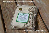 3x5 3.25x5 4x6 5x7 5x8 6x8 8x10 8x12 10x12 12x16 inch 100/% Cotton Natural bags