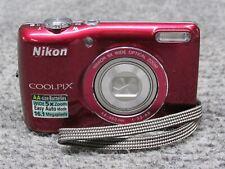 Nikon CoolPix L26 16.1MP 5x Optical Zoom 4x Digital Zoom - Red