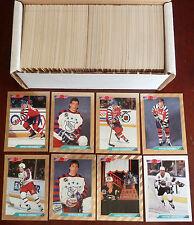 1992-93 NHL Topps Bowman Full Set 442/442 with Foil SP / Short Print