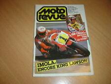 Moto revue N° 2699 Yamaha 900 XJ.200 miles d'Imola