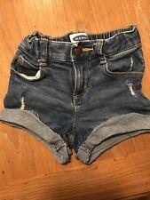 Old Navy Denim Shorts Girls 2T Excellent Condition