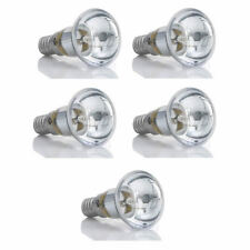 5Pcs R39 30W Clear Reflector Spot Light Filament Bulb Lava Lamp SES E14 Screw