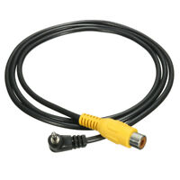 2.5mm Stereo Jack Plug Male to RCA Cable Video Converter AV-in GPS For Adapter