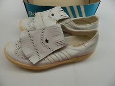 VTG 1980s -- Adidas Made in W. Germany Golf Spikes Shoes Size 13 --