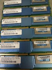 (LOT OF 10) Micron 8GB 2RX4 PC2-5300F  DDR2 MT36HTS1G72FY-667A1D4 Server RAM
