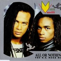 Milli Vanilli All or nothing (US Megamix, 1989) [Maxi-CD]