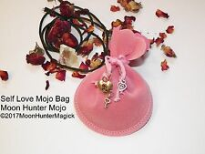 Self Love & Confidence Mojo Bag Power Charm Amulet Confidence Spell Hand Made