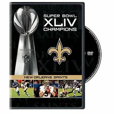 NFL Super Bowl 44 (XLIV) - New Orleans Saints Champions [DVD] *NEU* Drew Brees