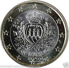 Pièce 1 euro SAINT MARIN  2013  -  Les Armoiries  -   Seulement 372 325 exempl.