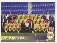 N°482 EQUIPE TEAM # BELGIQUE KV.WAASLAND-BEVEREN STICKER PANINI FOOTBALL 2011