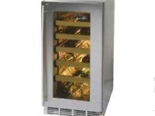 """Perlick 15"""" Indoor Wine Reserve w/stainless steel glass door #Hp15Ws-3-3R"""