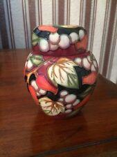 Moorcroft Winter Harvest Design Ginger Jar