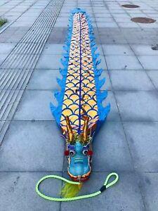 Square dance dragon Dance Single Sports Dragon Led lights ornament costume