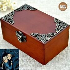 CLASSIC Rectangle jewelry Music Box :  Ghibli Howl's Moving Castle Soundtrack