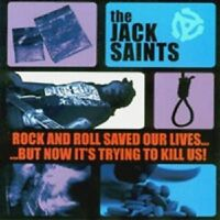 Jack Saints - Rock And Roll Saved Our Lives...  CD  18 Tracks  Neuware