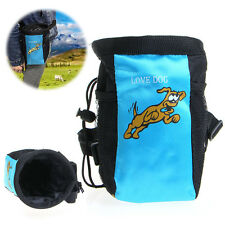 Pet Dog Puppy Obedience Agility Bait Training Treat Food Snack Pouch Belt Bags