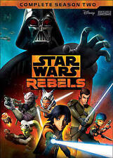 Star Wars Rebels: Complete Season Two 2 (4-Disc DVD Set) New Disney Free ship