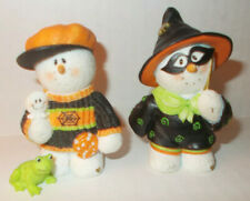 Sarah'S Attic Snowonders Mr. & Mrs. October ~ Halloween Couple #0928 & # 0916