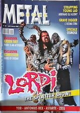 Metal Shock 424/2005 Lordi Green Day Confessor Yob Antonius Rex Astarte Zess