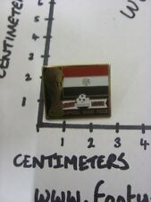 c1990 Enamel Badge (Clasp Back) World Cup 1990, Mars Official Snack Foods, Egypt