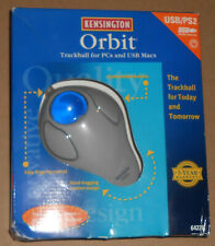 KENSINGTON ORBIT TRACKBALL for PCs and Macs - USB and PS2 #64226 - NEW IN BOX