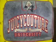 Vintage Juicy Couture Laptop Case Blue and Red RARE! Retro Juicy Couture