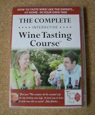 THE COMPLETE INTERACTIVE WINE TASTING COURSE CD ROM.