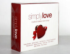 SIMPLY LOVE [4 CD'S CLASSIC LOVE SONGS / 2005] 698458241023