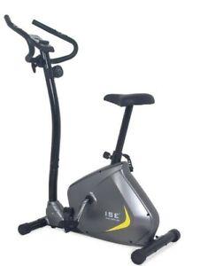 Vélo d'appartement magnétique capteur pulsation 8 résistances Fitness Home Sport