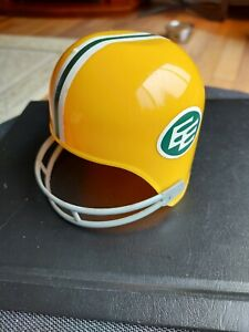 "Vtg Diary Queen Laich CFL Edmonton Eskimos Football Helmet 4"" 1970s"