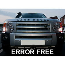 LAND ROVER DISCOVERY / FREELANDER COOL WHITE LED SIDELIGHT BULBS ERROR FREE 8SMD