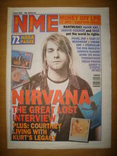 NME 1995 APR 8 NIRVANA LOST INTERVIEW ADAM ANT JARVIS