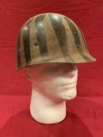 ORIGINAL *Rare* Early WWII M1 Helmet Liner - Unpainted Tortoise Shell Liner