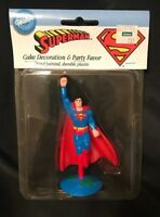 Vintage 1994 Superman Cake Decoration and Party Favor Wilton  NIP Sealed (A001)
