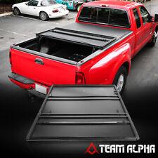 Fits 2016-2019 Toyota Tacoma 5ft Short Bed Soft Tri-Fold Tonneau Cover Fleetside