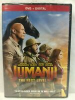 Jumanji The Next Level DVD - New HAS DENTS IN CASE