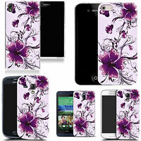 hard case cover for variety of Mobile Phones - calm floral