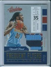2016-17 Panini Absolute Frequent Flyers Patch Kenneth Faried /10