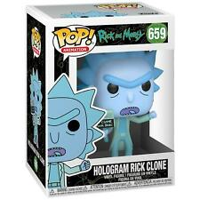 Funko Pop! Vinyl Rick & Morty Hologram Rick Clone Figure #659