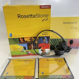 Rosetta Stone-Arabic (Level 1) Open Box 2007