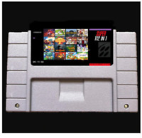 112 in 1 SNES Game Cartridge Multicart Colection 90th USA NTSC English Version