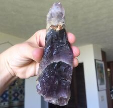 XL TERMINATED AURALITE 23 CRYSTAL WAND! AMETHYST QUARTZ POINT AJOITE SUPER SEVEN